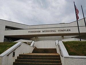 Tuskegee, Alabama - Image: Tuskegee Alabama Municipal Complex