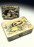 Two 'Tabloid' Tea tins. Wellcome L0039099.jpg