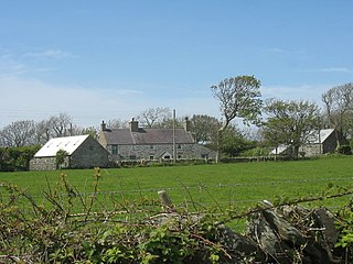 community and village in Anglesey, in north-west Wales