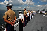 U.S. Naval Sea Cadet Corps (NSCC) members and active-duty members of the U.S. Marine Corps (USMC) Sixth Marines.jpg