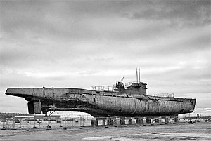 U-534 at Birkenhead Docks