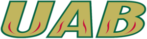 Auburn–UAB men's basketball rivalry - Image: UAB Blazers wordmark