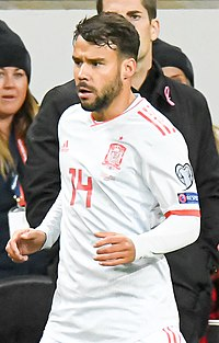 UEFA EURO qualifiers Sweden vs Spain 20191015 Juan Bernat 2 (cropped).jpg
