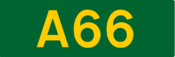 A66 road shield