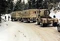 UNPROFOR Dutch Transportbatallion en route in Bosnia-Herzegovina. Route Triangel April 1995.jpg
