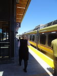UPX at Bloor Station on opening day, 2015 06 06.jpg