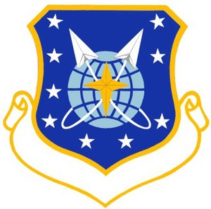 9th Space Division - Image: USAF 9th Space Division Crest