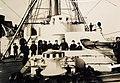 USS Atlanta, showing the forecastle and 8 inch gun (25180239231).jpg