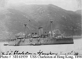 Image illustrative de l'article USS Charleston (C-2)