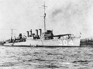 USS Farquhar (DE-139) - Not the DE-139, but the previous ship of the same name DD-304
