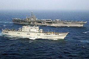 Italian aircraft carrier Giuseppe Garibaldi