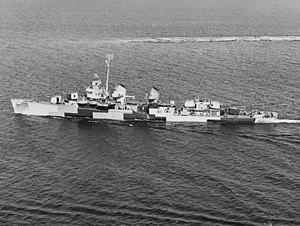USS Killen (DD-593) off Richmond Beach, Washington, 8 June 1944.