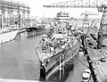 USS Mississippi (BB-41) and USS Idaho (BB-42) at the Norfolk Navy Yard in May 1933.jpg