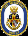USS Mitscher DDG-57 Crest.png