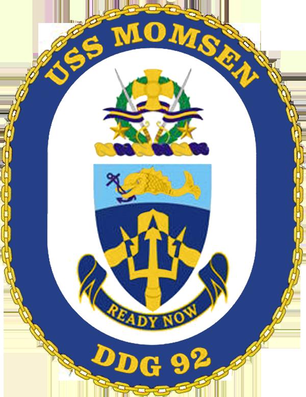 USS Momsen DDG-92 Crest