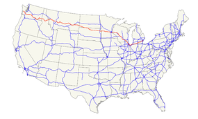 US Route Wikipedia - Us highway 12 map