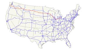 US Route Wikipédia A Enciclopédia Livre - Us 12 michigan map
