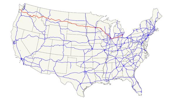 US Route Wikiwand - Us 12 michigan map