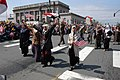 US Navy 030510-N-6477M-207 Women of the Everett-Iraqi community join in on a parade honoring the Sailors of the USS Abraham Lincoln (CVN-72) and their families.jpg