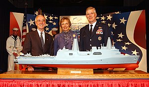 Richard Myers - Gordon R. England, Mary Jo Myers, and General Richard Myers in 2004