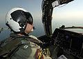 US Navy 040923-N-4374S-002 S-3B Viking pilot Lt. Jack Garcia assigned to Sea Control Squadron Three Zero (VS-30) performs a flight mission over the Arabian Gulf.jpg