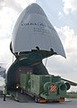 US Navy 050912-N-8253M-005 Military personnel unload a diesel powered water pump flown in by a Russian AN-124 Condor Aircraft to Naval Air Station Joint Reserve Base, New Orleans in support of Hurricane Katrina relief efforts.jpg