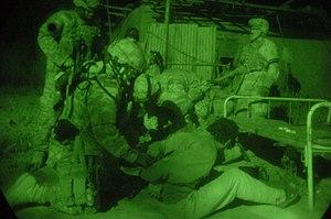 English: East Baghdad, Iraq (March 23, 2006) -...