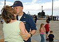 US Navy 060516-N-0879R-002 Friends and family members say aloha as the nuclear-powered attack submarine USS La Jolla (SSN 701) departed its homeport for a six-month Western Pacific deployment.jpg