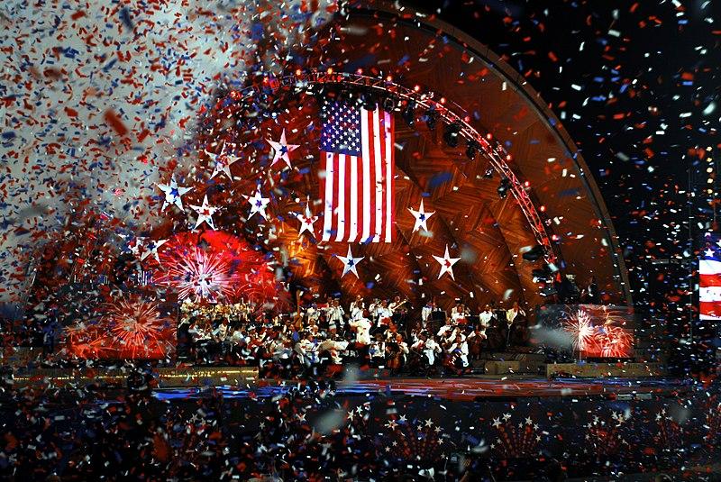 July 4th Stars and Stripes Celebration