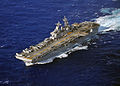 US Navy 110308-N-ZS026-397 The amphibious assault ship USS Boxer (LHD 4), flagship of the Boxer Amphibious Ready Group, is underway during a schedu.jpg