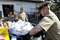 US Navy 111123-N-HW977-261 Sailors deliver NSWC Corona Thanksgiving food drive donations to Corona-Norco Settlement House.jpg