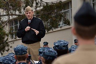 Michael S. Rogers - Rogers speaking to a group of sailors at the Center for Information Dominance in January 2012.