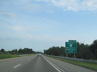 U.S. Route 31 in Michigan - During the 1970s and 1980s, US 31 was converted into a freeway spawning business routes along the former route of the highway.