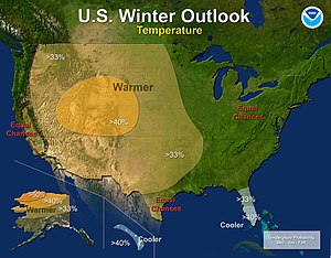 2012–13 North American winter - Temperature Outlook