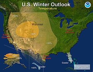 2012–13 North American winter - Temperature Outlook