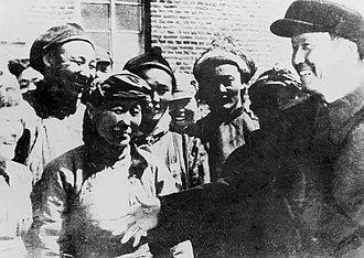 Ulanhu - Ulanhu and the delegates of Inner Mongolia People's Congress.