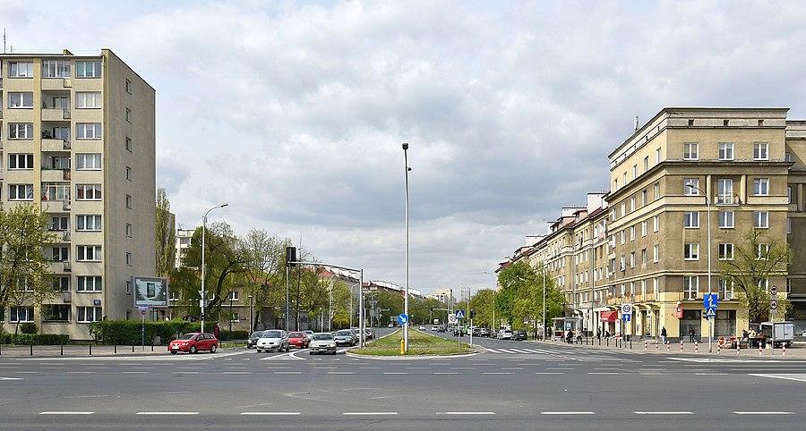Yuri Gagarin Street, Warsaw