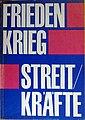 Umschlagtitel Frieden Krieg Streitkräfte 1989.jpg
