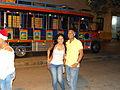 Una pareja alegre en Colombia.JPG