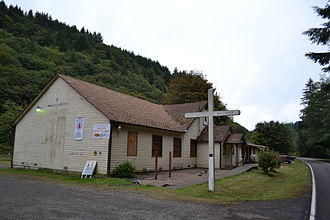 Unchurched Belt - The former church in Tide, Oregon, is now a center for martial arts.