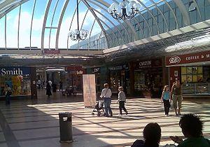 Kingdom Shopping Centre -  Unicorn Square, built in the 1980s