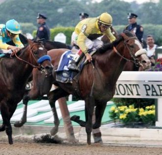 John R. Velazquez - Winning the Belmont on Union Rags