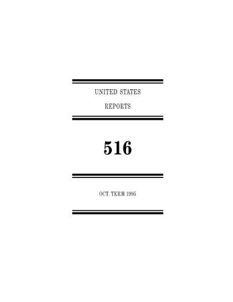 File:United States Reports, Volume 516.djvu