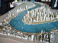 Urban planning museum-pudong scale model.JPG