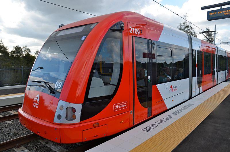 Como andar de Light Rail em Sydney