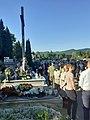 Uroczystości upamiętniające powstanie warszawskie na Cmentarzu Centralnym w Sanoku (2020-08-01)c.jpg