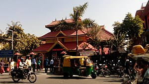 Uttara Guruvayurappan Temple - Main gopuram