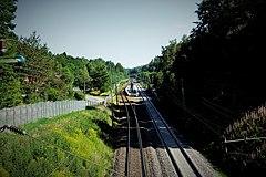 Västra Bodarna Station.   JPG