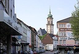 Moltkestraße in Völklingen