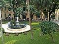 Vườn hoa bệnh viện Xanh Pôn nhìn từ nhà B1, Hà Nội 001.JPG
